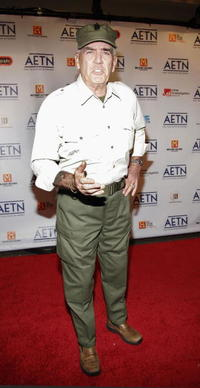 R. Lee Ermey at the A&E Television Networks Upfront celebration.