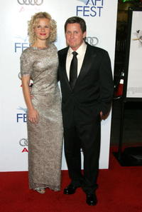 Sonja Magdevski and Emilio Estevez at the AFI Fest.