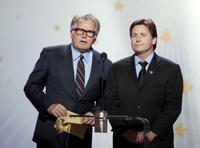Martin Sheen and Emilio Estevez at the 12th Annual Critics' Choice Awards.