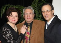 Faith Price, Harvey Fierstein and John Bucchino at the 59th Annual New Dramatists Spring Luncheon honoring Harvey Fierstein.