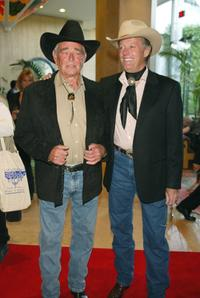 Peter Fonda and Honorees Stuart Whitman at the