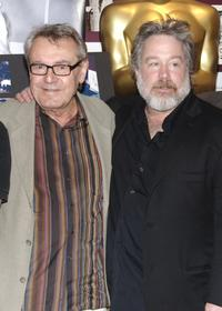 Milos Forman and Tom Hulce at the