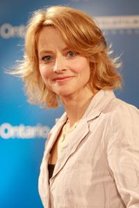 Jodie Foster at the press conference of