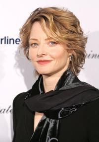 Jodie Foster at the US-Ireland and Alliance Oscar Wilde Awards: Honoring Irish Writing in Film event.