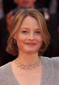 Jodie Foster at the Palme d'Or Awards Ceremony during the 54th Cannes Film Festival.