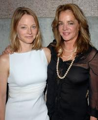 Jodie Foster and Stockard Channing at the 2005 Tony Awards Party.
