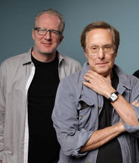 Screenwriter Tracy Letts and William Friedkin at the portrait session of