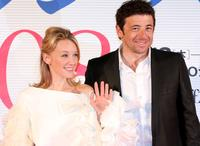 Ludivine Sagnier and Patrick Bruel at the opening ceremony of the France Film Festival 2008.
