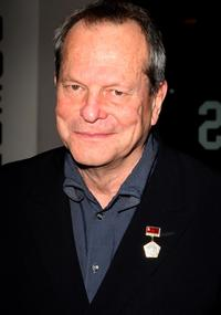 Terry Gilliam at the Times BFI 51st London Film Festival opening night gala screening of