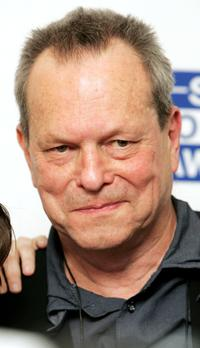Terry Gilliam at the pressroom at Sony Radio Academy Awards.