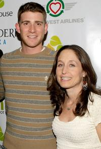 Bryan Greenberg and Jody Savin at the world premiere party of