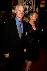 Christopher Guest and his wife Jamie Lee Curtis at the premiere of