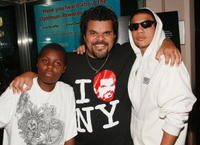 Yoruba, Luis Guzman and Cemi at the premiere of