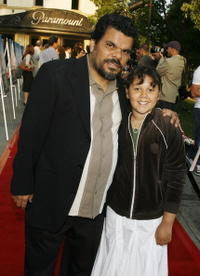 Luis Guzman and his Daughter Luna at the premiere of