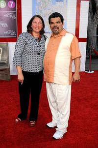 Angelita Galarza-Guzman and Luis Guzman at the California premiere of