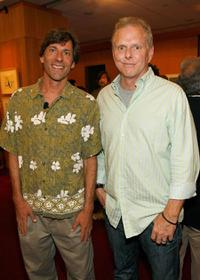 Adam Weiner and Todd Hallowell at the AMPAS presentation of