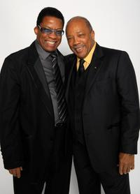 Herbie Hancock and Quincy Jones at the Thelonious Monk Institute of Jazz honoring B.B. King event.
