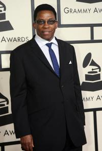Herbie Hancock at the 50th Grammy Awards.