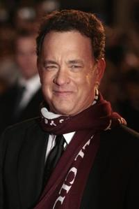 Tom Hanks at the London premiere of