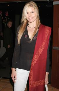 Mariel Hemingway at the Cynthia Sikes Live Performance.