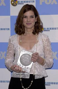 Sandra Bullock at the Seventh Annual Blockbuster Awards.