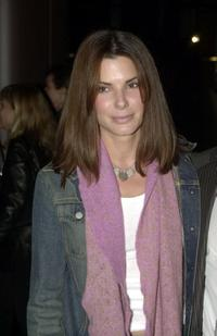 Sandra Bullock at the premiere of