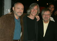 Frank Darabont, Mick Garris and Tobe Hooper at the premiere of