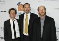 Ron Howard, Brian Grazer and Marc Shmuger at the Fullfillment Fund's Annual Stars Gala at the Beverly Hilton Hotel.