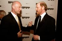 Ron Howard and Graham Leggat at the San Francisco International Film Festival awards night at the Westin St.Francis Hotel.