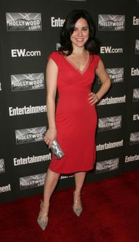 Cara Buono at the Entertainment Weekly Academy Awards.