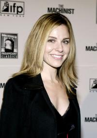 Cara Buono at the premiere of