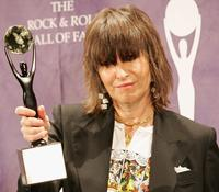 Chrissie Hynde at the 20th Annual Rock And Roll Hall Of Fame Induction Ceremony.
