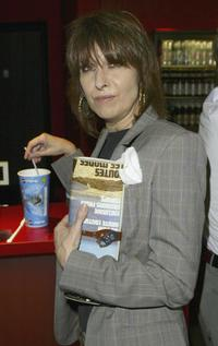 Chrissie Hynde at the premiere of