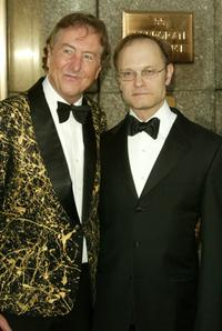 Eric Idle and David Hyde Pierce at the 59th Annual Tony Awards.