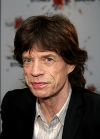 Mick Jagger of the webcast announcing details of band's