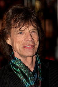 Mick Jagger at the UK premiere of