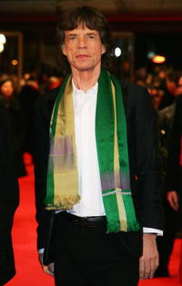 Mick Jagger at the premiere of