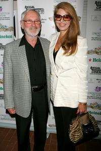 Norman Jewison and his guest at the Night of 1,000 Stars held during the Sarasota Film Festival.