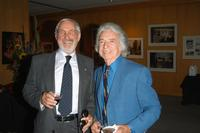 Norman Jewison and Arthur Hiller at the pre-screening cocktail party for the Israel Film Festival Premiere Screening of