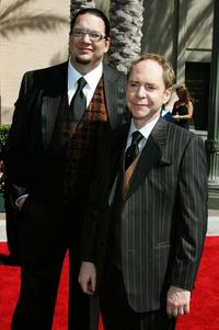 Penn Jillette and Teller at the 2006 Creative Arts Awards.
