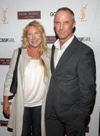 Robert John Burke and Guest at the Henri Bendel and YSL Beaute celebration of