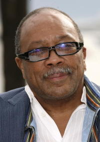 Quincy Jones at the 60th International Cannes Film Festival for