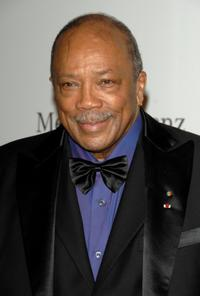 Quincy Jones at the 30th anniversary Carousel of Hope Ball.