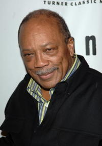 Quincy Jones at the premiere screening and party for TCM's Brando.