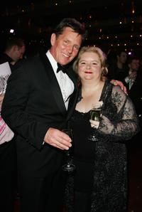 Tom Burlinson and Magda Sabanski at the after party of the 2008 Helpmann Awards.