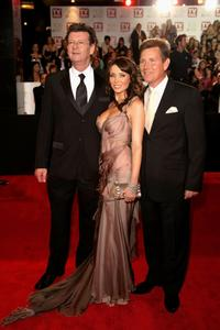 Red Symonds, Dannii Minogue and Tom Burlinson at the 50th Annual TV Week Logie Awards.