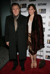Harvey Keitel and Daphna Kastner at the Creative Coalition's 2006 spotlight and Christopher Reeves Awards Gala.