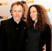 Harvey Keitel and Daphna Kastner at the screening of
