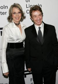 Diane Keaton and Martin Short at the Film Society of Lincoln Center Annual Gala Tribute to honor actress Diane Keaton.