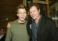 David Keith and Johnny Lewis at the premier of